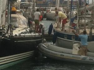 Hafenkino in Las Palmas