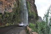 Autodusche der besonderen Art in Madeira