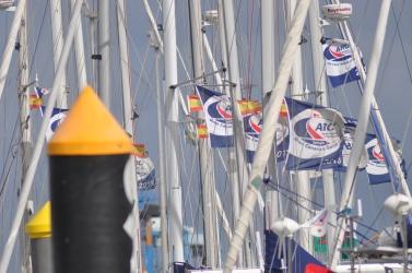 ARC-Teilnehmer sammeln sich im Hafen von Las Palmas